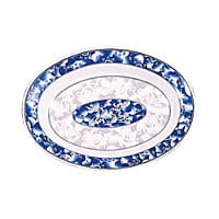 Thunder Group Deep Oval Platter - Blue Dragon Collection 13