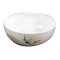 Thunder Group Blue Bamboo Collection 10 oz. Bowl (12 per Case) [3001BB]