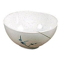 Thunder Group Blue Bamboo Collection Soup Bowl 9 oz. (12 per Case) [3006BB]