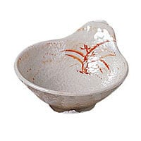 Thunder Group Tempura Dip Bowl - Gold Orchid Collection 5 oz (12 per Case) [3601GD]