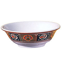 Thunder Group Rimless Bowl - Peacock Collection 82 oz (12 per Case) [5095TP]
