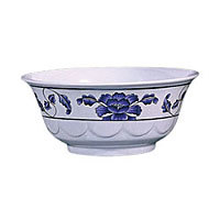 Thunder Group Scalloped Bowl - Lotus Collection 32 oz (12 per Case) [5275TB]