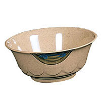 Thunder Group Curved Noodle Bowl - Wei Collection 47 oz (12 per Case) [5285J]