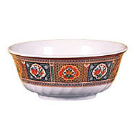 Thunder Group Swirl Bowl - Peacock Collection 66 oz (12 per Case) [5309TP]