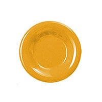 Thunder Group Round Wide Rim Round Plate - Yellow - 6-1/2
