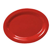 Thunder Group Oval Platter - Pure Red - 12