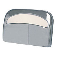 Thunder Group Chrome Half-Fold Toilet Seat Cover Dispenser [CRTSCD3812]