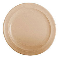 Thunder Group Nustone Tan Round Plate 10-1/4