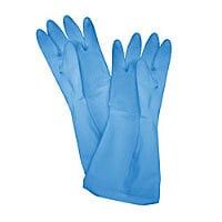 Thunder Group Blue Medium Latex Gloves (12 per Case) [PLGL005BU]