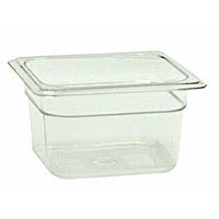 Thunder Group Sixth-Size Polycarbonate Solid Food Pans 4