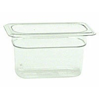 Thunder Group Ninth-Size Polycarbonate Solid Food Pans 4