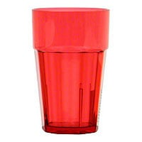 Thunder Group Red 24 oz. Diamond Tumblers (12 per Case) [PLPCTB124RD]