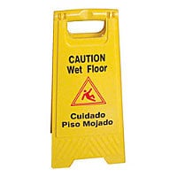 Thunder Group Fold Out Wet Floor Sign 24