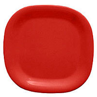 Thunder Group Passion Red Round Square Plate 14
