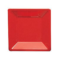 Thunder Group Passion Red Square Plate 10-1/4