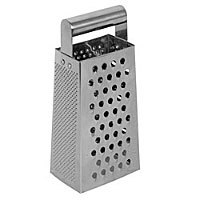 Thunder Group Stainless Steel Grater with Handle 9.5