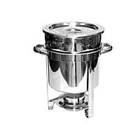 Thunder Group Stainless Steel Marimite Chafer 7 Qt. [SLRCF8307]
