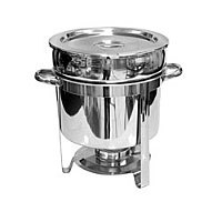 Thunder Group Stainless Steel Marimite Chafer 11 Qt. [SLRCF8311]