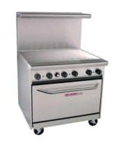 "Tri-Star - TSR-G36 - 36"" Commercial Gas Range - Griddle"