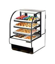 "True TCGD-31 - 59"" Curved Glass Dry Bakery Display Case"