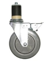 "Universal TSC-6 - 5"" Push-In Table Casters - 6 Per Case"