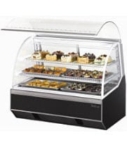 Turbo Air TB-4R - Curved Glass Refrigerated Bakery Case 48""