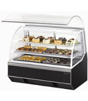 Turbo Air TB-5R - Curved Glass Refrigerated Bakery Case 60""