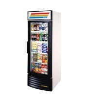 "True GDM-23RF - 27"" Energy Efficient Glass Door Reach In Refrigerator"
