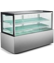 "Universal UBDC72 72"" Refrigerated Bakery Display Case - Counter Height"