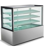 "Universal UHBDC72 72"" Refrigerated Bakery Display Case - High Exposure"