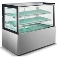 "Universal UBDC48 48"" Refrigerated Bakery Display Case"