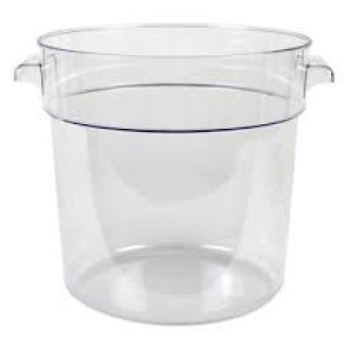 Universal CR 12L Food Storage Container Round Clear 12 Qt