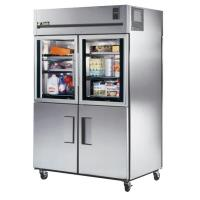 True STR2RPT-2HG/2HS-2S Spec Series Combination Half Door Pass Through Refrigerator