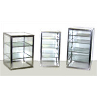 Carib 3 Compartment Countertop Upright Display Case 12