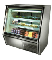 "Leader HDL48 - 48"" Double Duty Refrigerated Deli Display Case"