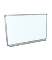 "Luxor WB4836W - Wall Mounted Whiteboard - 48""W x 36""H"