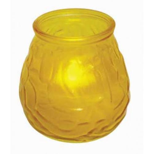 Winco Glass Flameless Tealight Candle [CLG-3Y]