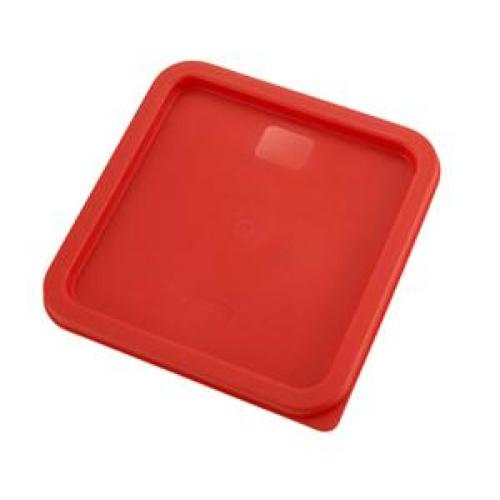 Winco Red Container Cover, Fits 6 & 8 qt storage containers [PECC-68]