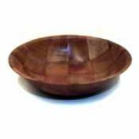 Thunder Group Woven Wood Bowl 18