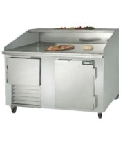 "Leader DR60 - 60"" Refrigerated Pizza Dough Retarder Table"