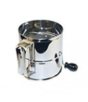 Winco RFS-8 - Stainless Steel Flour Sifter - 8 Cup