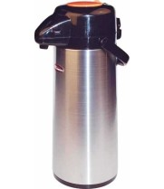 Winco AP-519DC - Decaf Stainless Steel Airpot 1.9 L