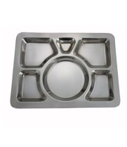 Winco SMT-1 - Mess Tray 6 Compartment