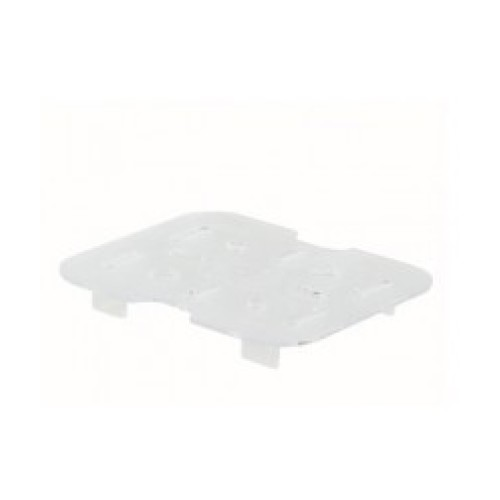 Winco 1/6 Size Plastic Drain Shelf [SP76DS]