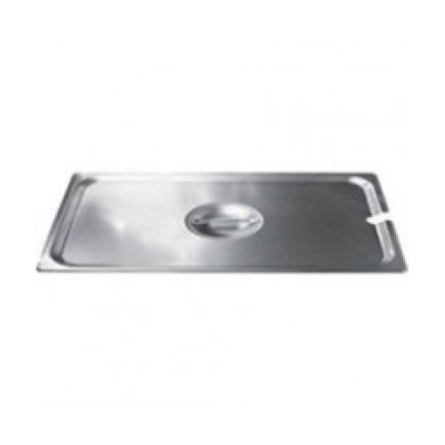 Winco 1/4 Size Slotted Steam Pan Cover [SPCQ]