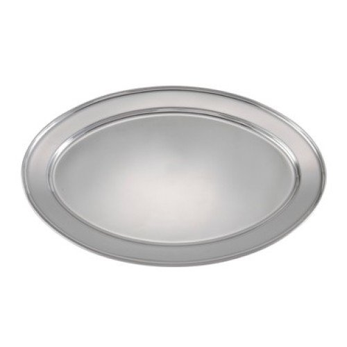 Winco Stainless Steel Platter 22