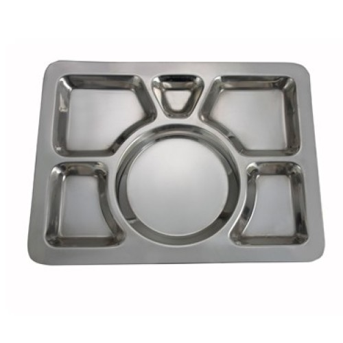 Winco Mess Tray 6 Compartment [SMT-1]