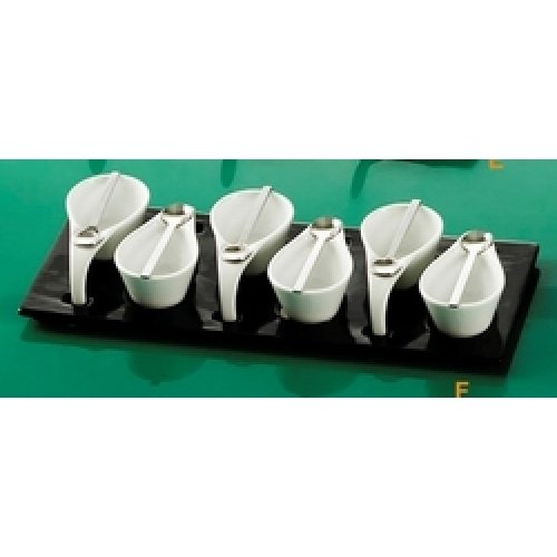 C.A.C. China PTP-6-B - Party Collection Tasting Cup Set 14-1/2