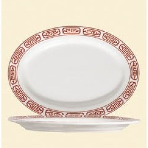 C.A.C. China 105-61 - Red Gate Platter 16