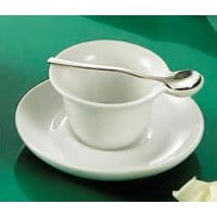 C.A.C. China PTC-4-S - Party Collection Cup and Saucer Set 4-1/2